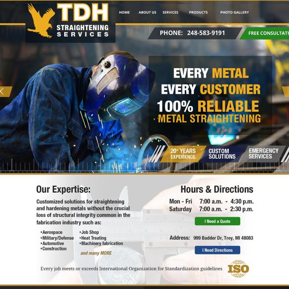 TDH Straightening Website